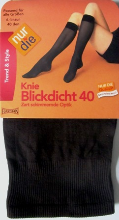 ND Knee Heights Blickd brown 40d 1 size