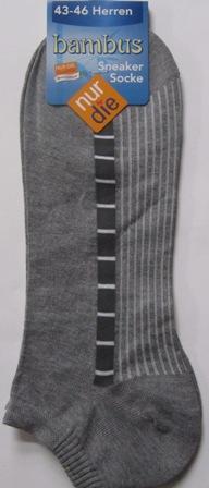 ND Gent Bamboo Sneaker Grey 43-46