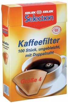 Selection 100 coffee filter 4 brown (9)