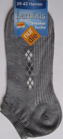 ND Gent Bamboo Sneaker Grey 39-42
