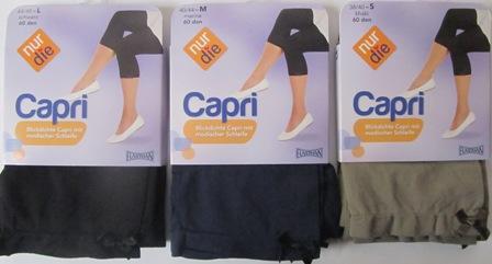ND Capri Legg navy/olive/black 60d s/m/l