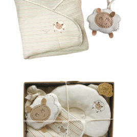 TAK Gift set pillow towel toy