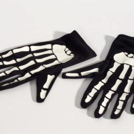 BH Halloween skeleton gloves