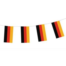 PS paper flag chain Germany Flame resist