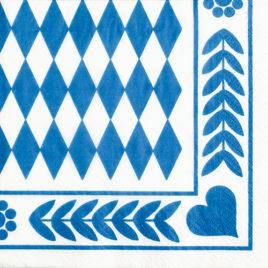20 serv. 3 ply 33×33 Bavarian Blue (15)