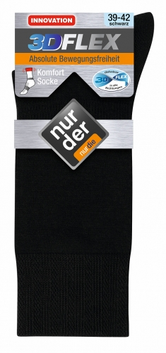 ND Gent Socks 3DFLEX Black 39-42