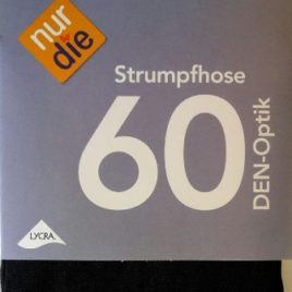 ND 60D Stocking Blk/Gry/Viol 38->48