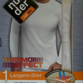 ND Gent Longsleeve Thermo Shirt Wht 6L