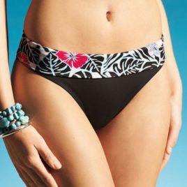 Bikini bottom brown turnover band 20