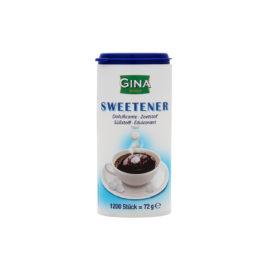 Gina Table-top sweetener disp 1200pc(24)