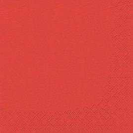 20 Serviet 3-ply 33cmx33cm  Red (15)