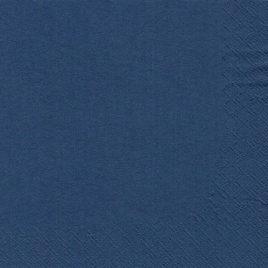 20 Napkins 3ply 33cmx33cm navy (15)