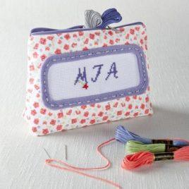 knit set  purse
