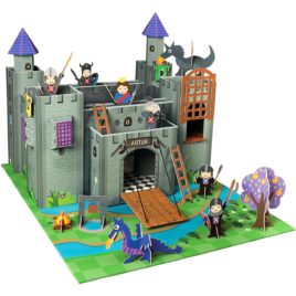 knight s castle  cardboard