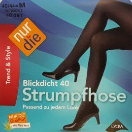 ND blickdicht 40D black 40/44 M