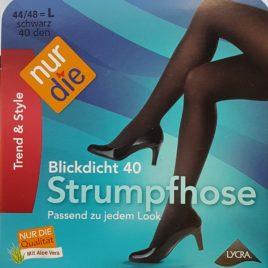 ND blickdicht 40D black 44/48 L