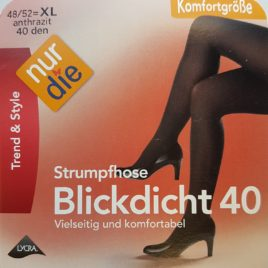 ND blickdicht 40D anthracite 48/52 XL