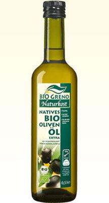 BG organic cold press olive oil 500ml (6