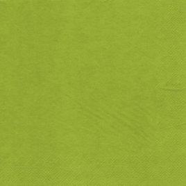 20 Napk 3ply 33cmx33cm Olive green (15)