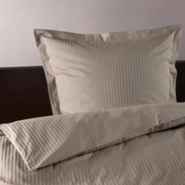 Duvet set  satin single plain grey  AT