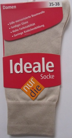 ND ladies Die ideale Sock beige 35-38