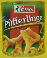 Valenzi chanterelles/Pfifferl 314ml (12)