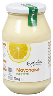 Everyday Mayonnaise With Lemon 500ml (12