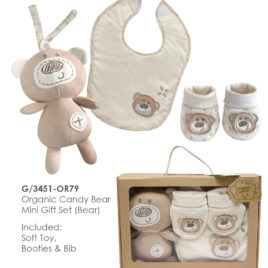 TAK Gift Set Toy booties bib