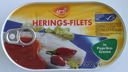 Apti Herring Fillets Paprika 200 gr (18)