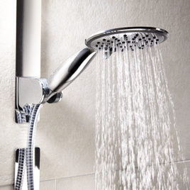 shower head  magnetic attachment