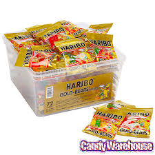 Haribo Golden Bear mini 10g bucket (1)