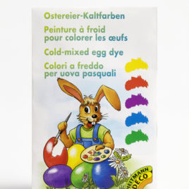 cold colouring for eggs