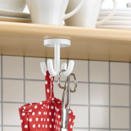 4-fold hook for kitchen
