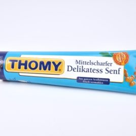Thomy Deli-mustard 200g TB  (12)