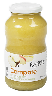 Everyday Apple Sauce With Pieces720g(12)