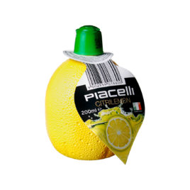 Piacelli Lemon juice concentr 200ml (12)
