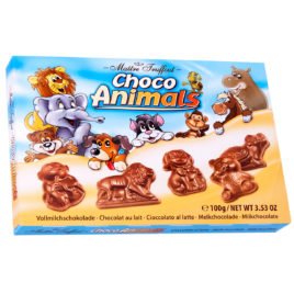 MT Milk chocolate choco animals 100g (22