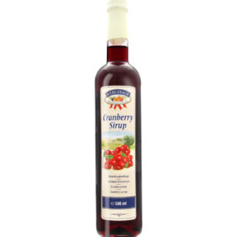 Muehlebach Syrup cranberry 0.5l  (6)