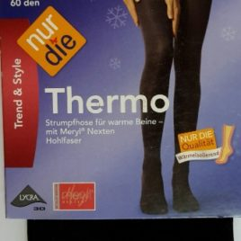 ND ladies Thermo Tights black 60d 40/44M