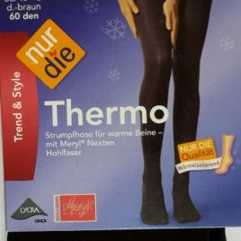 ND ladies Thermo Tights brown 60d 38/40S