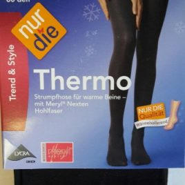 ND ladies Thermo Tights brown 60d 40/44M