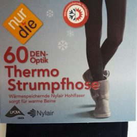 ND Thermal Tights 60d Black/Navy S/M/L