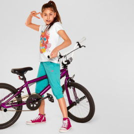 girls jersey pants  158/164