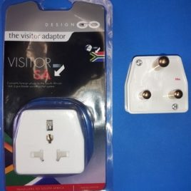 The Visitor Adaptor Foreign plugs to SA