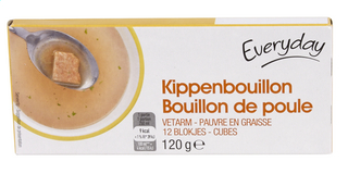 Everyday Chicken bouillon 12 cubes (42)
