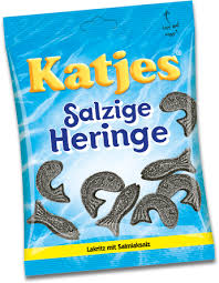 Katjes salty herrings 200 gr (20)