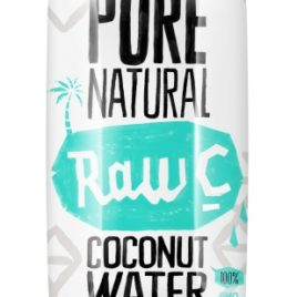RAW C Coconut water natural 330 ml (12)