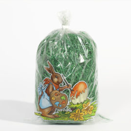Easter grass  green  ca. 50 g/bag
