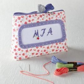 knit set  purse