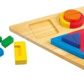 Mertens wood recognise shapes 13 pcs 2+